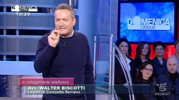 Claudio Brachino conduce Domenica Live