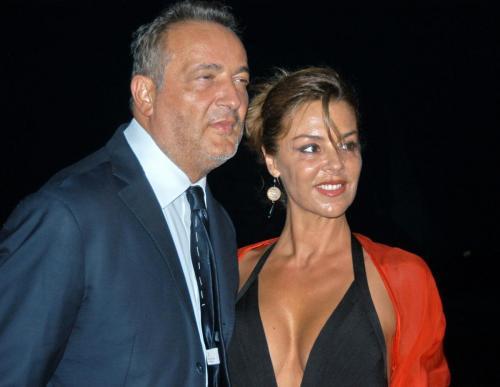 Claudio Brachino con la moglie Barbara Benedetelli