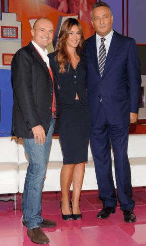 Alfonso Signorini, Silvia Toffanin, Claudio Brachino - Verissimo